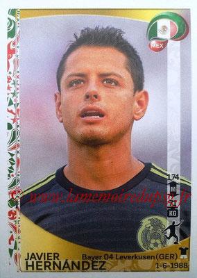 Panini Copa America Centenario USA 2016 Stickers - N° 228 - Javier HERNANDEZ (Mexique)