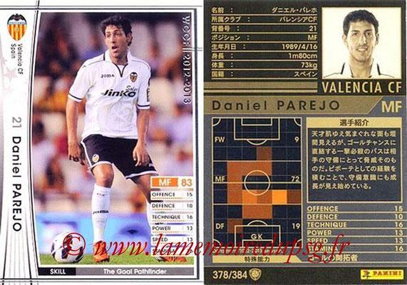2012-13 - WCCF - N° 378 - Daniel PAREJO (FC Valence)