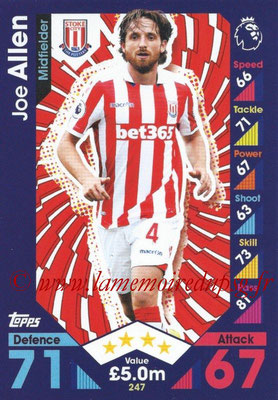 2016-17 - Topps Match Attax Premier League - N° 247
