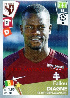 2017-18 - Panini Ligue 1 Stickers - N° 239 - Fallou DIAGNE (Metz)