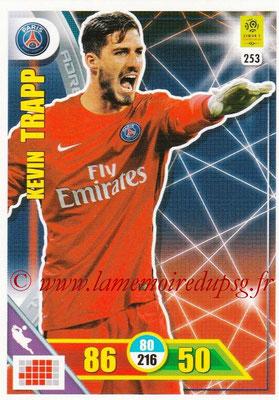 2017-18 - Panini Adrenalyn XL Ligue 1 - N° 253 - Kevin TRAPP (Paris Saint-Germain)