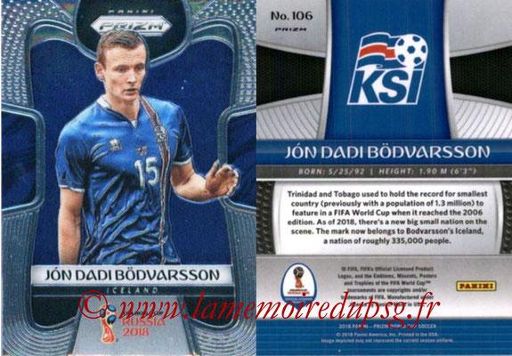 2018 - Panini Prizm FIFA World Cup Russia - N° 106 - Jon Dadi BODVARSSON (Islande)