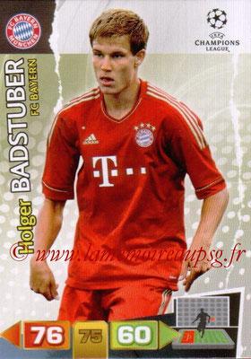 2011-12 - Panini Champions League Cards - N° 058 - Holger BADSTUDER (FC Bayern Munich)
