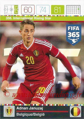 2015-16 - Panini Adrenalyn XL FIFA 365 - N° 356 - Adnan JANUZAJ (Belgique) (International Rising Star)