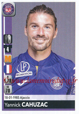 2018-19 - Panini Ligue 1 Stickers - N° 488 - Yannick CAHUZAC (Toulouse)