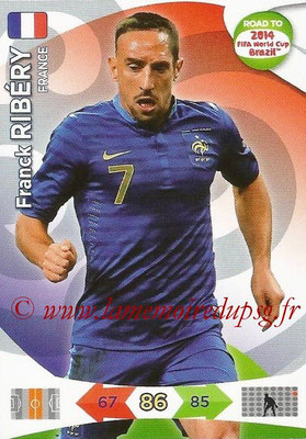 2014 - Panini Road to FIFA World Cup Brazil Adrenalyn XL - N° 096 - Franck RIBERY (France)