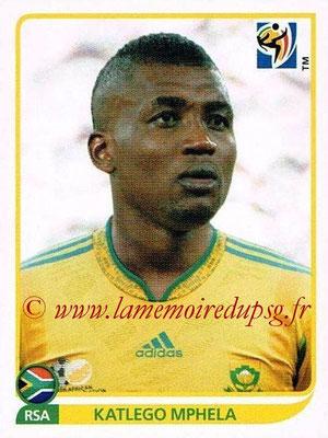 2010 - Panini FIFA World Cup South Africa Stickers - N° 047 - Katlego MPHELA (Afrique du Sud)