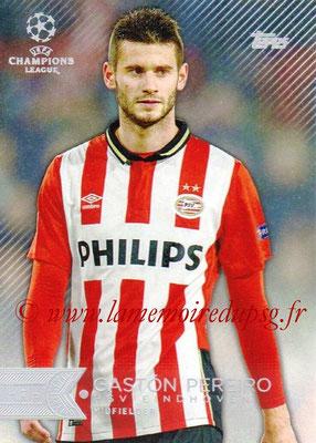 2015-16 - Topps UEFA Champions League Showcase Soccer - N° 033 - Gaston PEREIRO (PSV Eindhoven)
