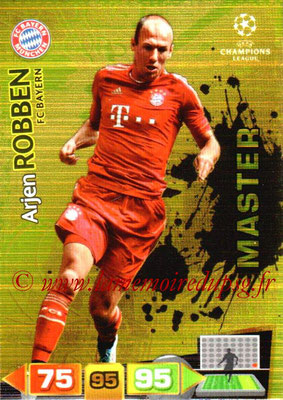 2011-12 - Panini Champions League Cards - N° 331 - Arjen ROBBEN (FC Bayern Munich) (Masterr)