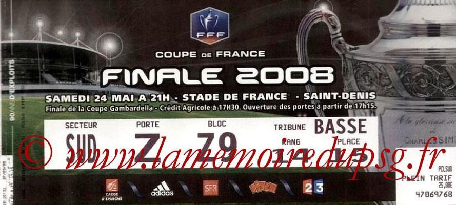 Tickets  PSG-Lyon  2007-08