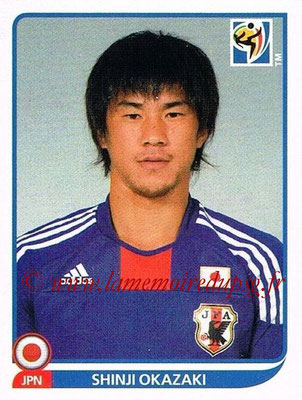 2010 - Panini FIFA World Cup South Africa Stickers - N° 389 - Shinji OKAZAKI (Japon)