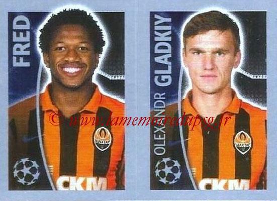 2015-16 - Topps UEFA Champions League Stickers - N° 061 - FRED + Olexandr GLADKIY (FC Shakhtar Donetsk)