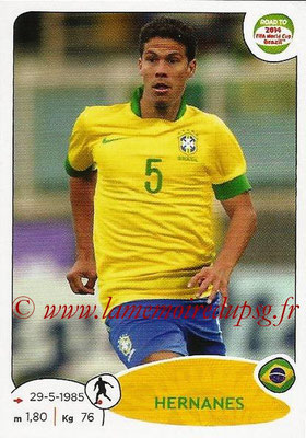 2014 - Panini Road to FIFA World Cup Brazil Stickers - N° 012 - HERNANES (Brésil)