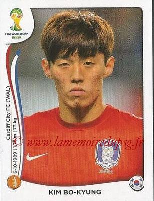 2014 - Panini FIFA World Cup Brazil Stickers - N° 634 - Kim BO-KYUNG (Corée du Sud)