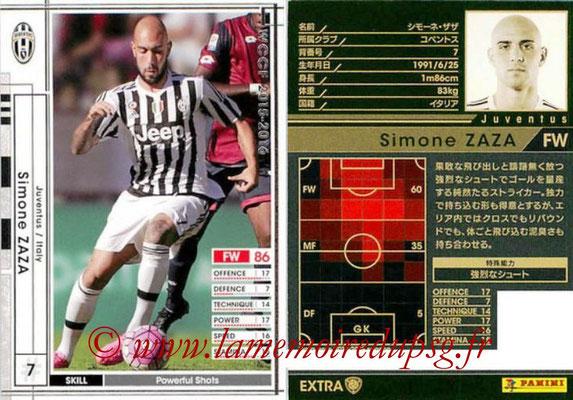 2015-16 - Panini WCCF - N° EXT14c - Simone ZAZA (Juventus FC) (Extra)
