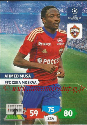 2013-14 - Adrenalyn XL champions League N° 135 - Ahmed MUSA (PFC CSKA Moscou)
