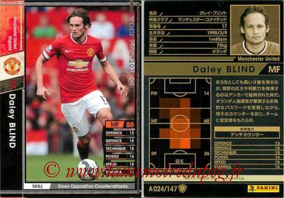 2014-15 - WCCF - N° A024 - Daley BLIND (Manchester  United FC)
