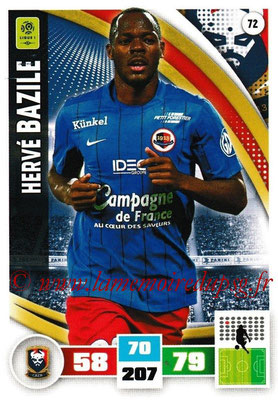 2016-17 - Panini Adrenalyn XL Ligue 1 - N° 072 - Hervé BAZILE (Caen)