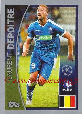 2015-16 - Topps UEFA Champions League Stickers - N° 514 - Laurent DELPOITRE (KAA Gent)