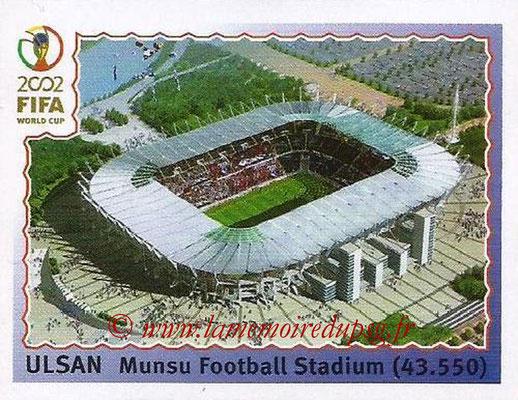 2002 - Panini FIFA World Cup Stickers - N° 014 - Stade Ulsan (Munsu Football Stadium)