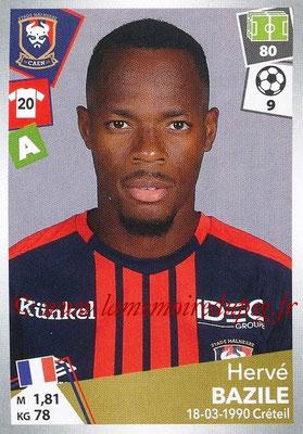 2017-18 - Panini Ligue 1 Stickers - N° 094 - Hervé BAZILE (Caen)