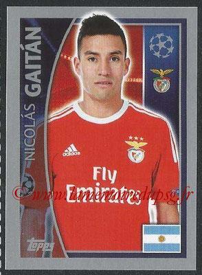 2015-16 - Topps UEFA Champions League Stickers - N° 168 - Nicolàs GAITÀN (SL Benfica)