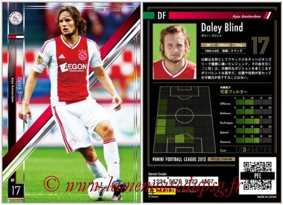 Panini Football League 2013 - PFL02 - N° 114 - Daley Blind ( Ajax Amsterdam )