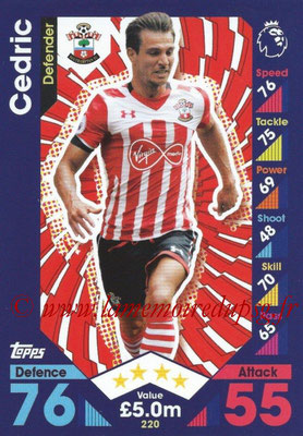 2016-17 - Topps Match Attax Premier League - N° 220