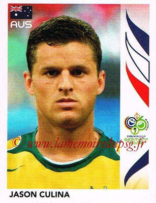 2006 - Panini FIFA World Cup Germany Stickers - N° 431 - Jason CULINA (Australie)