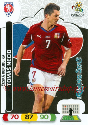 Panini Euro 2012 Cards Adrenalyn XL - N° 010 - Tomas NECID (République Tchèque) (Rising Star)