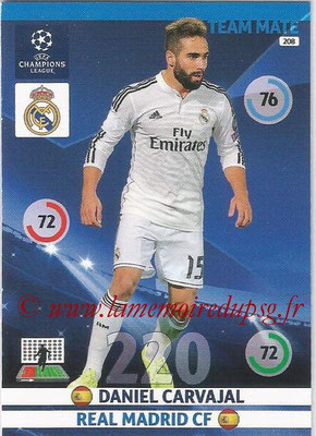 2014-15 - Adrenalyn XL champions League N° 208 - Daniel CARJAVAL (Real Madrid CF)