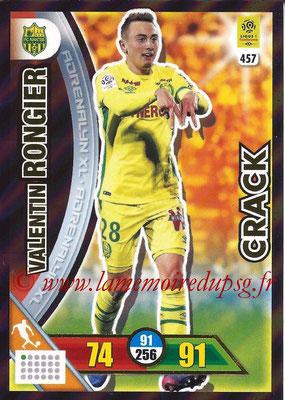 2017-18 - Panini Adrenalyn XL Ligue 1 - N° 457 - Valentin RONGIER (Nantes) (Crack)