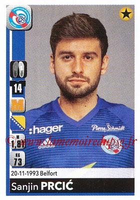 2018-19 - Panini Ligue 1 Stickers - N° T40 - Sanjin PRCIC (Strasbourg) (Transfert)