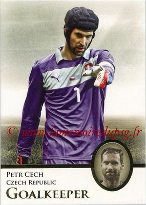 2013 - Futera World Football Unique - N° 001 - Petr CECH (République Tchèque) (Goalkeeper)