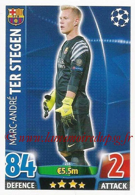 2015-16 - Topps UEFA Champions League Match Attax - N° 235 - Marc-André TER STEGEN (FC Barcelone)