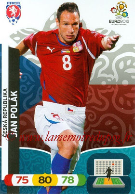 Panini Euro 2012 Cards Adrenalyn XL - N° 007 - Jan POLAK (République Tchèque)