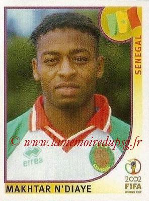 2002 - Panini FIFA World Cup Stickers - N° 055 - Makhtar N'DIAYE (Sénégal)