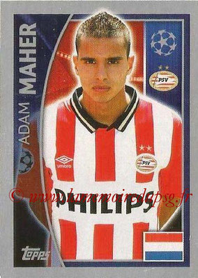 2015-16 - Topps UEFA Champions League Stickers - N° 097 - Adam MAHER (PSV Eindhoven)