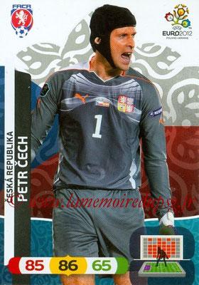 Panini Euro 2012 Cards Adrenalyn XL - N° 001 - Petr CECH (République Tchèque)