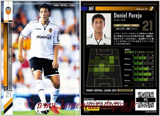 Panini Football League 2013 - PFL02 - N° 054 - Daniel Parejo ( Valencia CF )