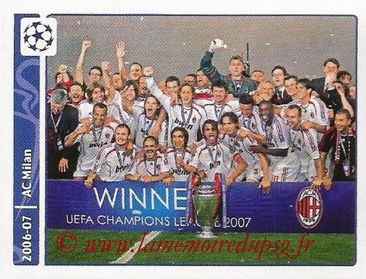 2014-15 - Panini Champions League N° 341 - 2006-07 - Milan AC