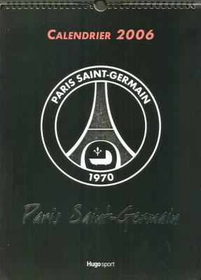 Calendrier PSG 2006