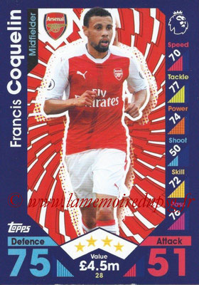 2016-17 - Topps Match Attax Premier League - N° 028