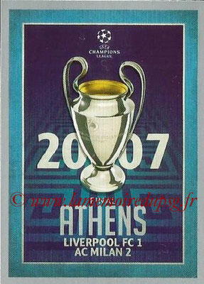2015-16 - Topps UEFA Champions League Stickers - N° 599 - UEFA Champions League Final 2006-07