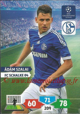 2013-14 - Adrenalyn XL champions League N° 250 - Adam SZALAI (FC Schalke 04)