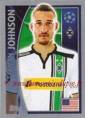2015-16 - Topps UEFA Champions League Stickers - N° 289 - Fabian JOHNSON (VfL Borussia Mönchengladbach)