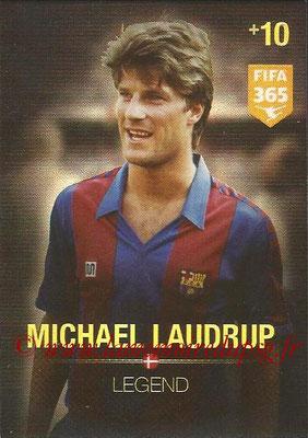 2015-16 - Panini Adrenalyn XL FIFA 365 - N° 370 - Michael LAUDRUP (Danemark) (Legend)