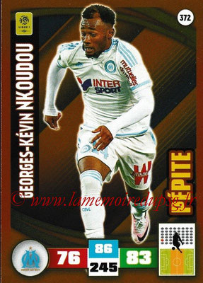 2016-17 - Panini Adrenalyn XL Ligue 1 - N° 372 - Georges-Kévin NKOUDOU (Marseille) (Pepite)