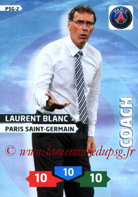 N° PSG-02 - Laurent BLANC (Coach)
