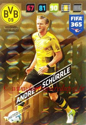 2017-18 - Panini FIFA 365 Cards - N° LE-AS - André SCHÜRRLE (Borussia Dortmund) (Limited Edition)